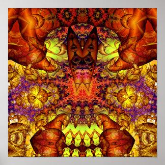 Golden Gateway Experiment 10 (12 by 12) Art Print