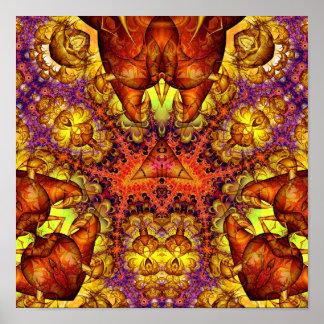 Golden Gateway Experiment 6 (12 by 12) Art Print