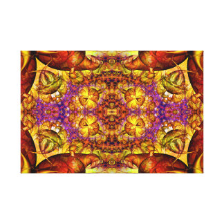Golden Gateway Experiment Expanded Wrapped Canvas
