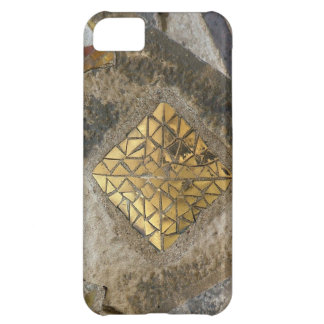 Golden Gaudi mosaic Cover For iPhone 5C