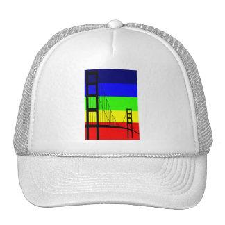 Golden Gay Trucker Hat