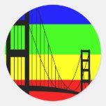 Golden Gay Sticker