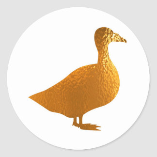 Golden Geese Stickers