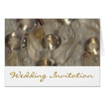 Golden Gems Evening Wedding Invitation Cards