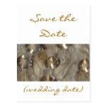 Golden Gems Save the Date Postcard