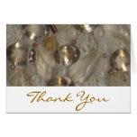 Golden Gems Thank You Card
