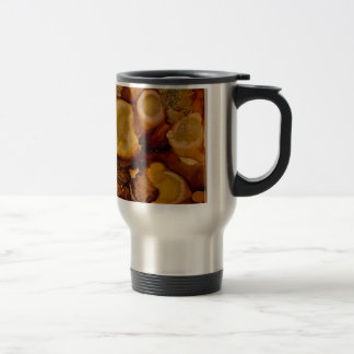 Golden Geode collection 15 Oz Stainless Steel Travel Mug