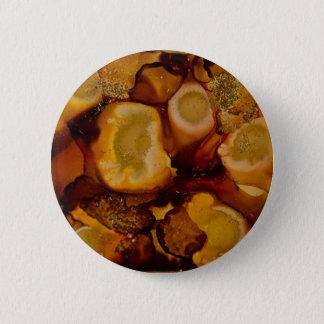 Golden Geode collection Pinback Button