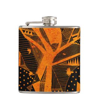 golden geometry flask