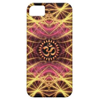 Golden Geometry Threads Aum Custom iPhone 5 Cases