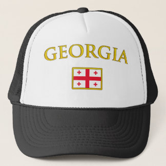 Golden Georgia Trucker Hat