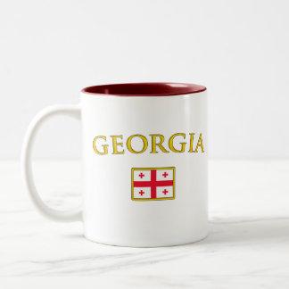 Golden Georgia Two-Tone Coffee Mug