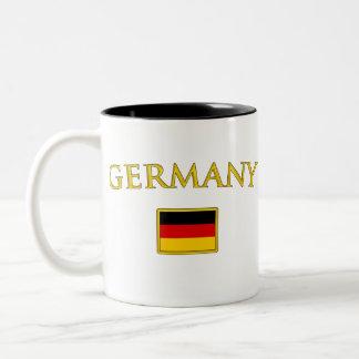 Golden Germany Two-Tone Coffee Mug