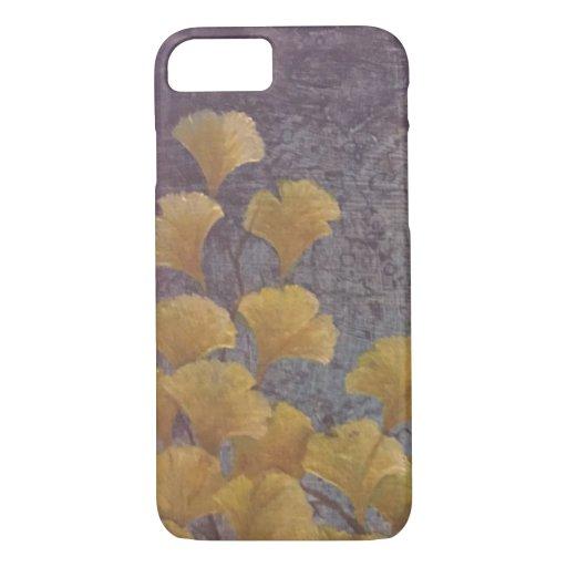 Golden Gingko Leaves iPhone 8/7 Case