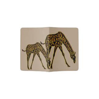 Golden Giraffes Passport Holder
