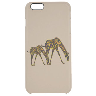 Golden Giraffes Uncommon Clearly™ Deflector iPhone 6 Plus Case