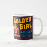 Golden Girl Apples Coffee Mug