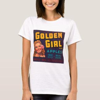 Golden Girl Brand Apples Vintage Advertisment T-Shirt