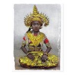 Golden Girl postcard