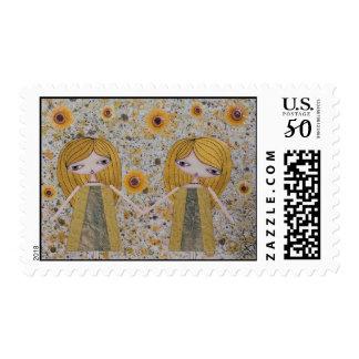 """""""Golden Girls"""" 49 Cent Denomination Stamps! Postage"""