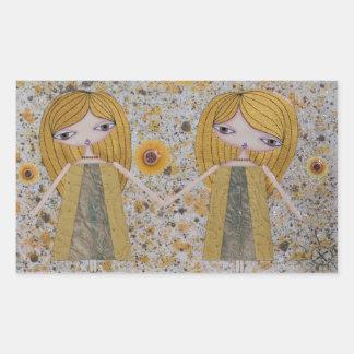 """""""Golden Girls"""" Rectangle Stickers! Rectangular Sticker"""