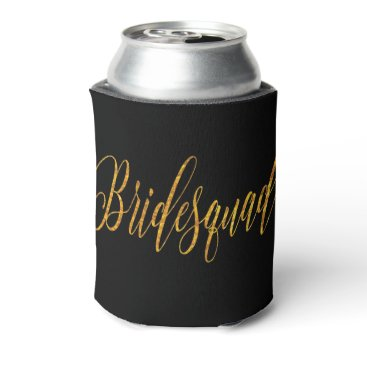 colourarts Golden Glamour Flowing Custom Script Can Cooler