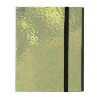 Golden Glass Design iPad Folio Case