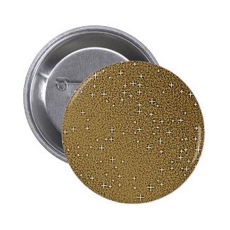 Golden Glitter Backgrounds Button