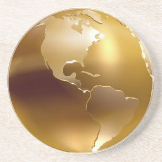 Golden Globe Cosater Drink Coaster