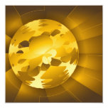 Golden Globe Invitaciones Personalizada