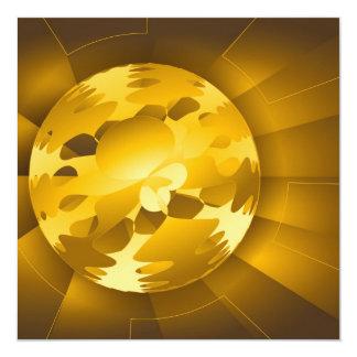 Golden Globe Personalized Invites