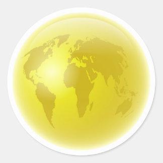 Golden Globe Sticker