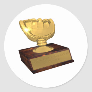Golden Glove Award Sticker