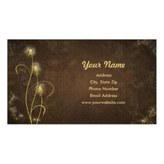 Golden Glow Business Card