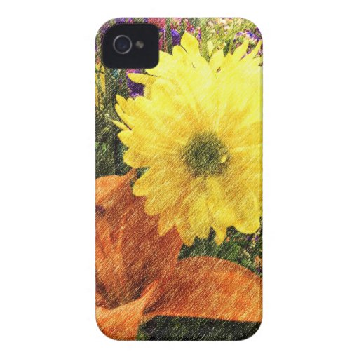 Golden Glow iPhone 4 Cover
