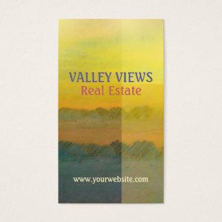 Golden Glow Landscape Business Card