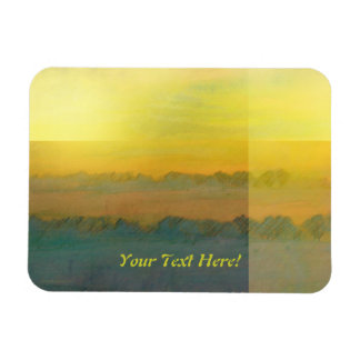 Golden Glow Landscape Premium Magnet