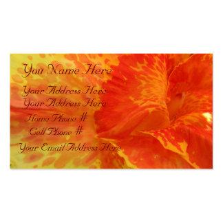 Golden Glow Profile Card Business Card Templates
