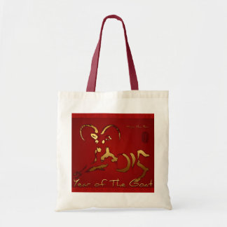 Golden Goat 2015 - Chinese and Vietnamese New Year Tote Bag