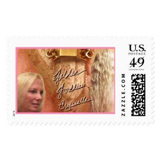 Golden Goddess Crystalle - Like Silk Sounds -Stamp Postage