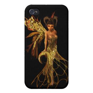 Golden Goddess iPhone 4 Case