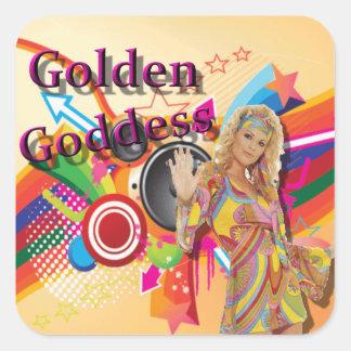 Golden Goddess Oldies Show Stickers