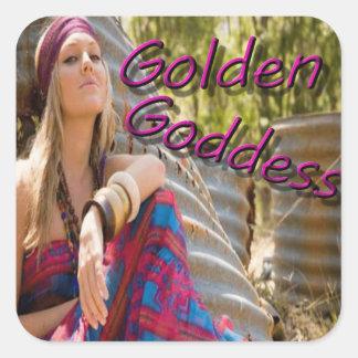Golden Goddess Stickers 2