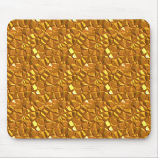 Golden Gold Mouse Pad
