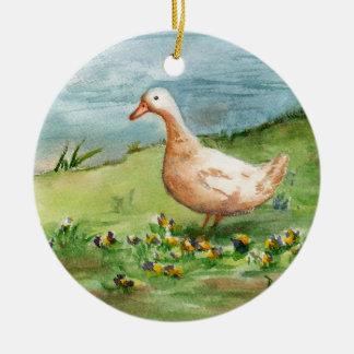 Golden Goose Ornament