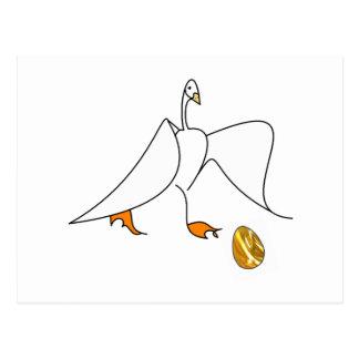 Golden Goose Postcard