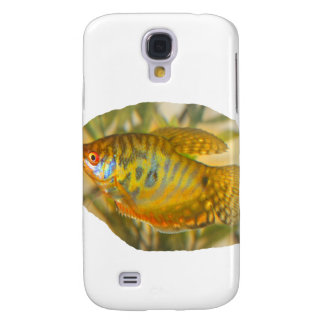 Golden Gourami Side View Saturated Aquarium Fish Galaxy S4 Case