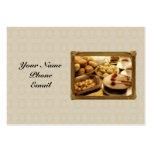 Golden Grace Desserts Business Card Templates