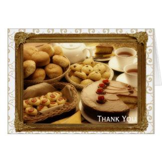 Golden Grace Desserts Card