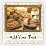 Golden Grace Desserts Stickers